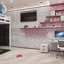 Дизайн интерьера: Комната тинейджера
