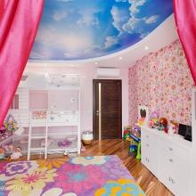 Дизайн интерьера: Комната для девочки