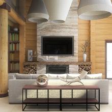 Дизайн интерьера: Дом у леса