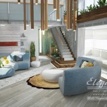 Дизайн интерьера: Квартира в стиле LOFT