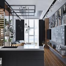 Дизайн интерьера: Квартира студия