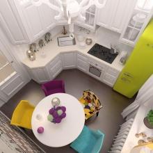 Дизайн интерьера: Дизайн кухни 9 м2