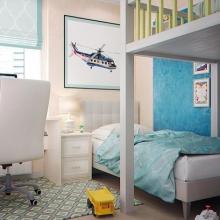 Дизайн интерьера: Проект детской комнаты