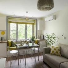 Дизайн интерьера: Небольшая квартира