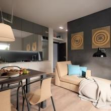 Дизайн интерьера: Проект квартиры 38 м2