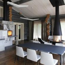 Дизайн интерьера: Деревянный дом