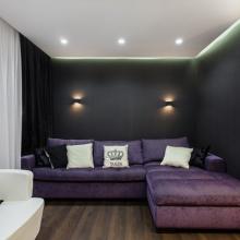 Дизайн интерьера: Квартира для деловой женщины 68 м2