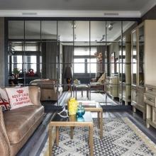 Дизайн интерьера: Квартира для девушки 68 м2