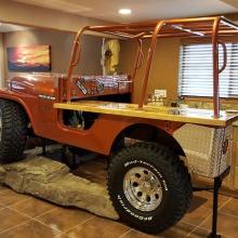 Дизайн интерьера: Jeep