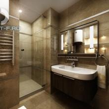 Дизайн интерьера: Современная ванная комната