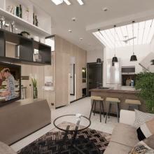 Дизайн интерьера: Стильные 38 квадратных метров