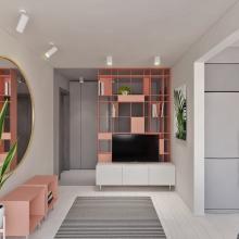 Дизайн интерьера: Три цвета