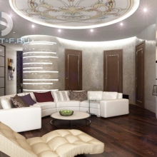 Дизайн интерьера: Просторная гостиная