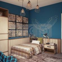 Дизайн интерьера: Спальня для девочки подростка