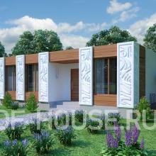 Проект дома: BERG 80