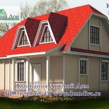 Проект дома: Проект КТ-036, 8х10м.