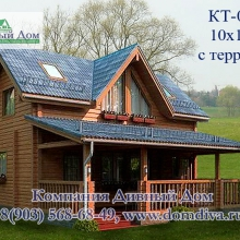 Проект дома: Проект кт - 035, 10х10м