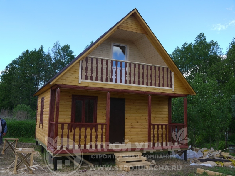 Дизайн домов 6х6