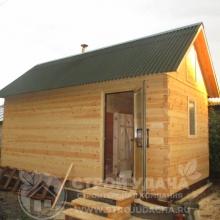 Проект дома: Б-1.1 Баня 3х6