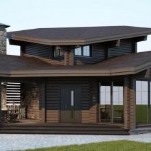 Проект дома: Баня Крекшино