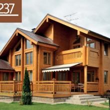 Проект дома: Дом клееный брус Б-237 269кв.м