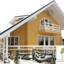 Проект дома: Дом клееный брус Б-142 м кв