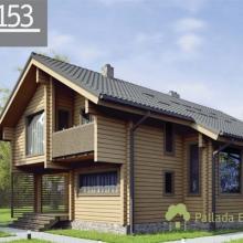 Проект дома: Дом клеенный брус Б-153 156 кв м