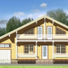 Проект дома: Дом из бруса 185х150 255кв.м