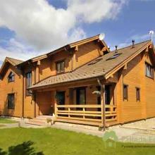 Проект дома: Дом клееный брус Б-249 335кв.м