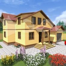 Проект дома: Проект дома Д-48