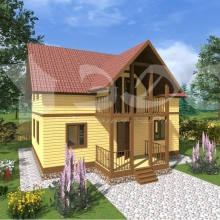 Проект дома: Проект дома Д-46