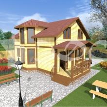 Проект дома: Проект дома Д-45