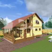 Проект дома: Проект дома Д-44