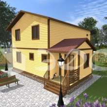 Проект дома: Проект дома Д-43
