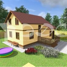 Проект дома: Проект дома Д-42