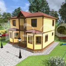 Проект дома: Проект дома Д-40
