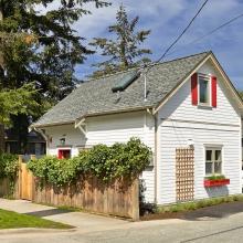 Проект дома: Проект Каркасный дом Z77 дизайн проект «Ванкувер»