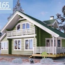 Проект дома: Дом клеенный брус Б-165 203кв.м