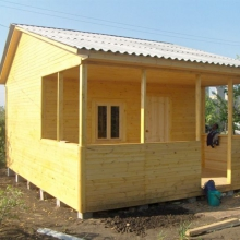 Проект дома: Садовый домик