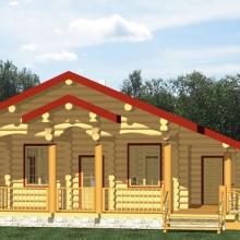 Проект дома: Гостевой дом