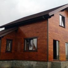 Проект дома: Дома кедр+лиственница для постоянного проживания