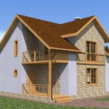 Проект дома: Мурино 2