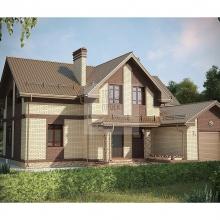 Проект дома: Проект большого красивого двухэтажного дома