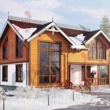 Проект дома: Русская Сказка