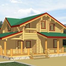 Проект дома: Дом с террасой