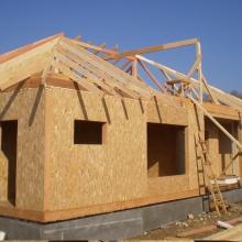 Проект дома: Строительство дачного, садового домика, домов и коттеджей из сип панелей