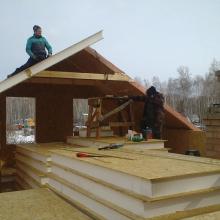 Проект дома: Строительство мансарды из сип панелей