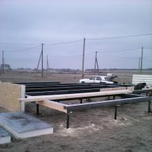 Проект дома: Свайно-винтовой фундамент, винтовые сваи D 76-102
