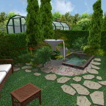 Проект дома: Благоустройство территории
